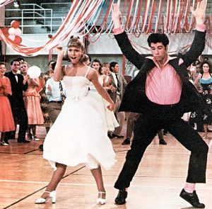 Olivia-Newton-John-And-John-Travlota-Dancing-In-Grease