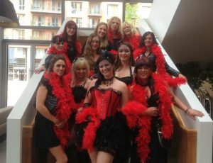 burlesque hens party
