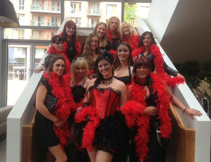 A Burlesque Dancing Lesson. Burlesque Hens Party