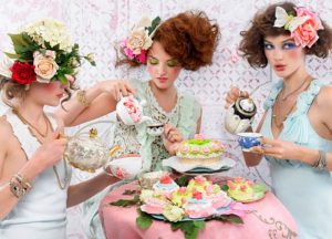 high tea hens party