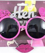 Hens party glasses