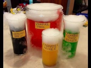 Themed costume drinks