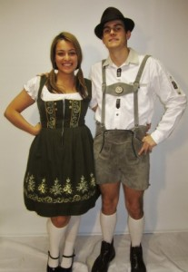 Lederhosen and Dirndl