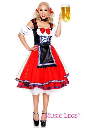 Female Oktoberfest costume