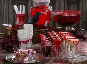 Bloody themed halloween