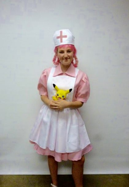 Nurse Joy Pokemon Costume