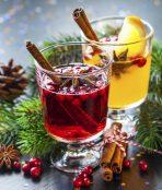 festive Xmas drinks