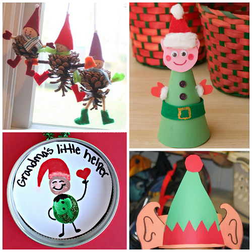 10 unique ideas for a winning christmas party creative for Elf shelf craft show