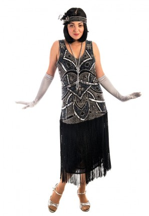 1920s Jazz Flapper Costume, 1920s Costume, Flapper Costume, 20s Costume, Great Gatsby Costume