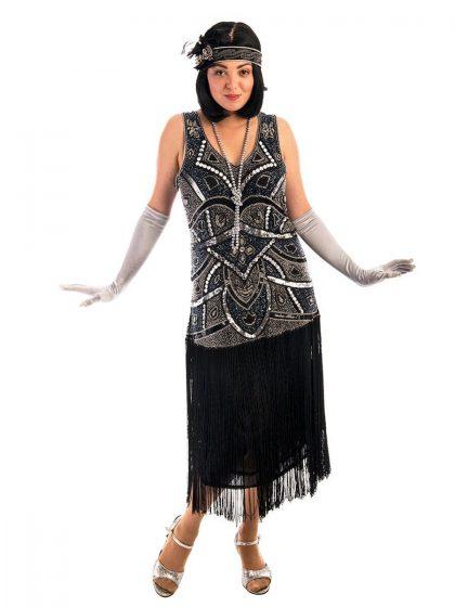 1920s Jazz Flapper Costume, 1920s Costume, Flapper Costume, 20s Costume, Great Gatsby Costume