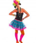 80s Rainbow Punk Girl Costume, 80s Costume, Cyndi Lauper Costume, 80s pop girl