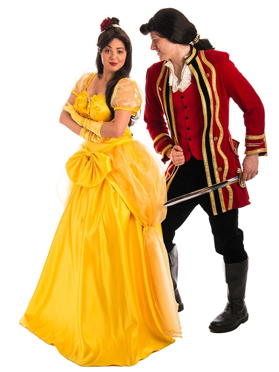 Beauty and the Beast Couple Costume -Creative Costumes