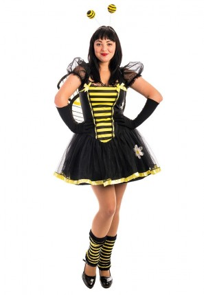 Bumble Bee Dress Costume, Bee Costume, Bumble Bee Costume, Bug Costume