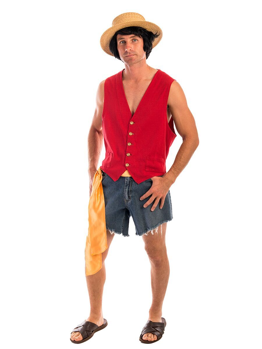 95236730339a Luffy One Piece Costume -Creative Costumes