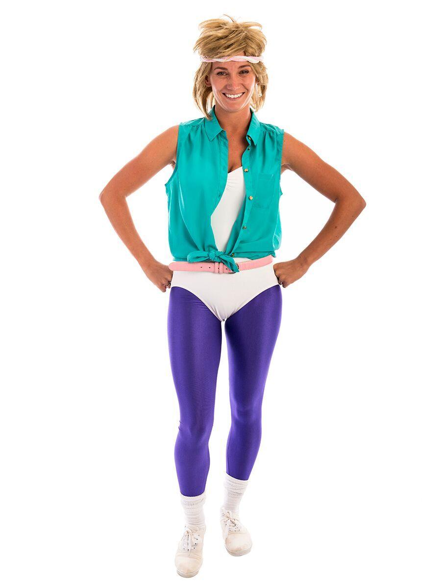 80s aerobics  sc 1 st  Creative Costumes & Olivia Newton John Aerobics Costume -Creative Costumes