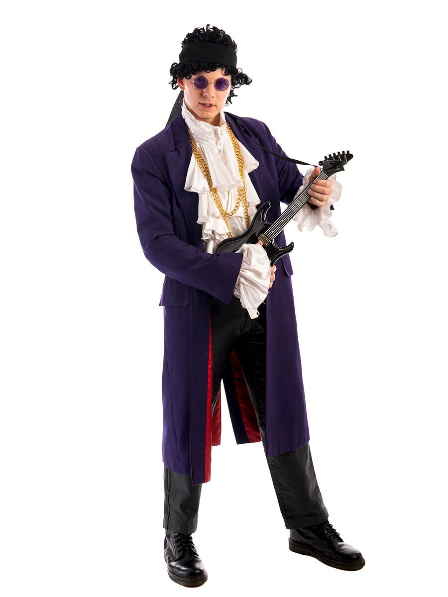 Prince 80s Costume -Cr...