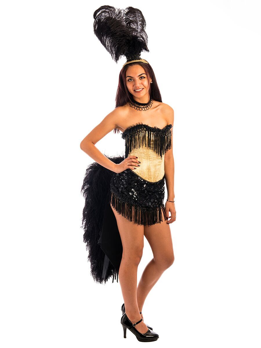 981ad773d54bf Burlesque Showgirl Gold Costume -Creative Costumes