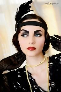 1920s Look makeup