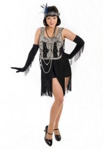 Vintage 1920s dancer