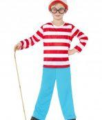 kids wheres wally costume