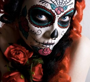 Halloween Day of the dead costume