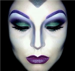 Wicked queen makeup
