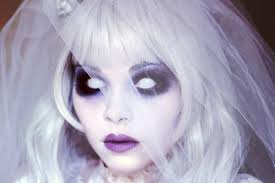 ghostly bride makeup