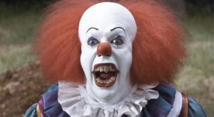 Steven kings It clown makeup