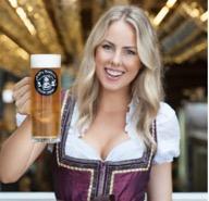 German girl dirndl