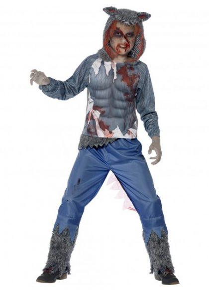 Wolf costume child