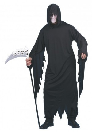 Scremaer black robe costume
