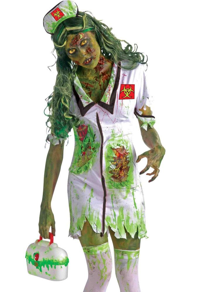 abc5d2abf55d4 Biohazard Nurse Zombie Costume -Creative Costumes