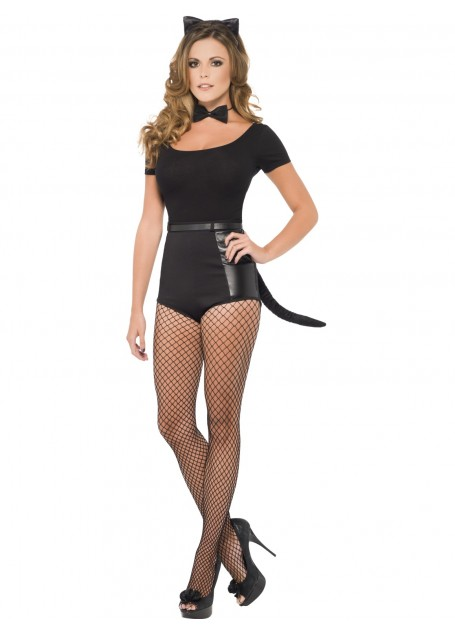 cat ears and tail
