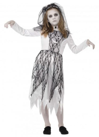 Ghostly bride costume