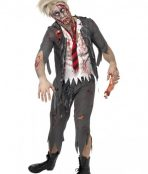 school boy zombie costume