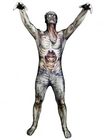 zombie morphsuit costume