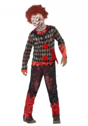 Zombie clown costume