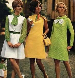 1960s retro fashion
