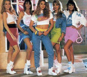 80s era fashion