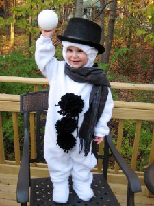best kids snowman costume