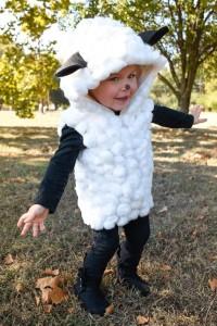 kids sheep costume