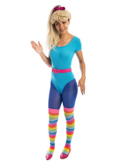 Aerobics Barbie Costume, Barbie, 80s, Toy Story, Toy, Mattel, eighties