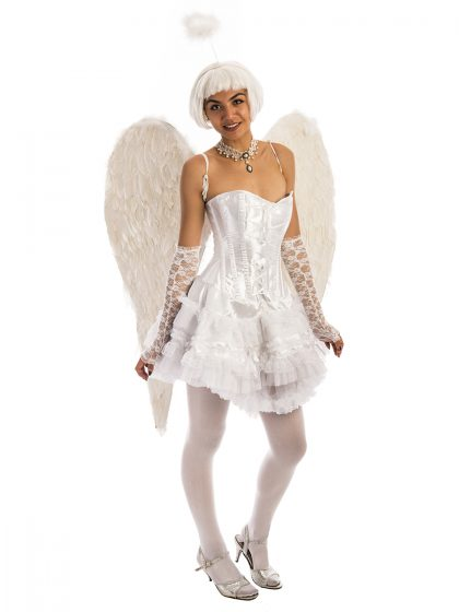 White Angel Costume, Angel, Fairy, Victorias Secret
