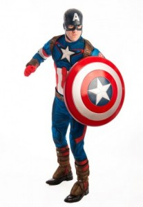 marvels captain America costume