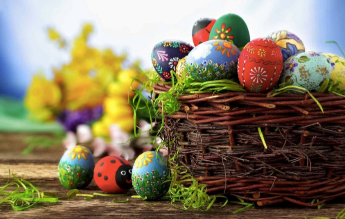 The best ways to celebrate easter in magical melbourne creative easter egg basket negle Image collections