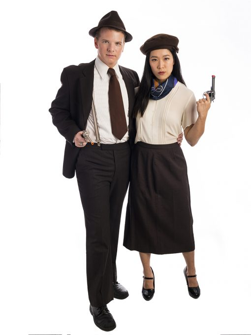 Bonnie and Clyde Couples Costume, Bonnie and Clyde Costume, Bonnie & Clyde, Bonnie Parker, Clyde Barrow