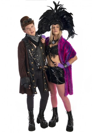 Burning Man Couples Costume, Burning Man Costume, Festival Costume, Coachella, Rainbow Serpent