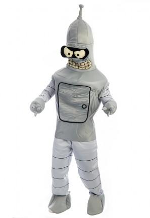 Bender Futurama Costume, Benda Futurama Costume, Robot Costume, Space Costume