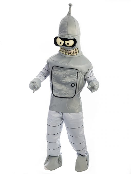 Bender Futurama Costume, Benda Futurama Costume, Robot Costume, Space Costume