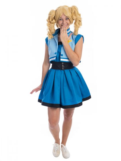 Bubbles Powerpuff Girls Costume, Power Puff Girls Costume, Bubbles Costume